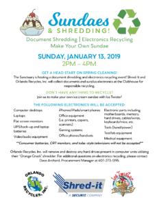 Sundaes & Shredding – The Sanctuary Community Association, Inc